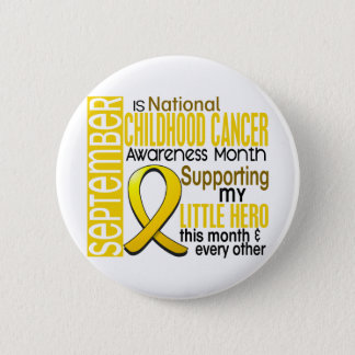 Childhood Cancer Awareness Month Ribbon I2 1 Pinback Button