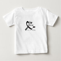 Childhood Cancer Awareness No One Fights Alone Baby T-Shirt