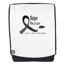 Childhood Cancer Awareness No One Fights Alone Backpack