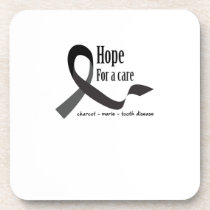 Childhood Cancer Awareness No One Fights Alone Beverage Coaster