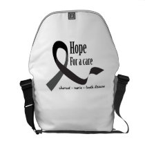 Childhood Cancer Awareness No One Fights Alone Courier Bag