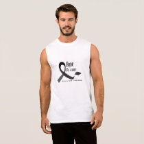 Childhood Cancer Awareness No One Fights Alone Sleeveless Shirt