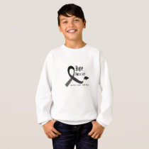 Childhood Cancer Awareness No One Fights Alone Sweatshirt