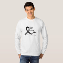Childhood Cancer Awareness No One Fights Alone T-Shirt