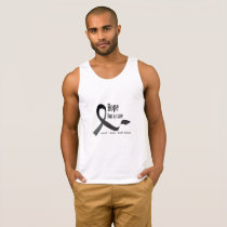 Childhood Cancer Awareness No One Fights Alone Tank Top