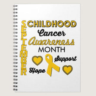 Childhood Cancer Awareness Notebook