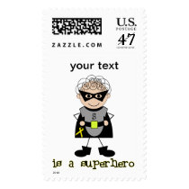Childhood Cancer Awareness Postage