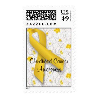 Childhood Cancer Awareness Postage Stamp