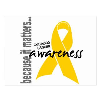 Childhood Cancer Awareness Postcard