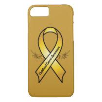 Childhood Cancer Awareness Ribbon iPhone 8/7 Case