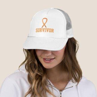 Childhood Cancer Awareness Ribbon Survivor Hat