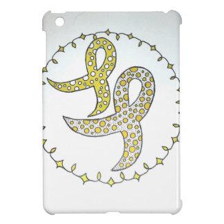 Childhood Cancer Awareness Ribbons iPad Mini Cover
