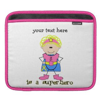 Childhood Cancer Awareness Sleeve For iPads
