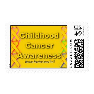 Childhood Cancer Awareness Stamp