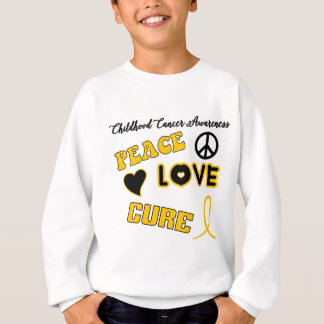 Childhood Cancer Awareness Sweatshirt