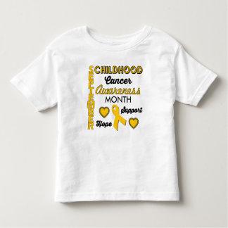 Childhood Cancer Awareness Toddler T-shirt