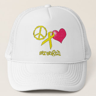 Childhood Cancer Awareness Trucker Hat