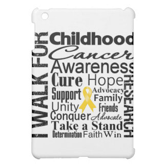 Childhood Cancer Awareness Walk Cover For The iPad Mini