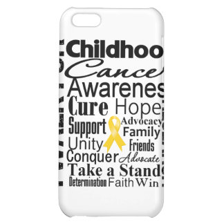 Childhood Cancer Awareness Walk iPhone 5C Cases