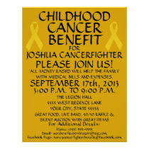 Childhood Cancer Benefit Flyer