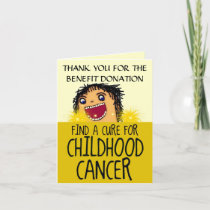 Childhood Cancer Benefit Thank You