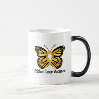Childhood Cancer Butterfly Awareness Ribbon Magic Mug