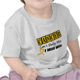 Childhood Cancer Cant Bully Me I Will Win Tee Shirt