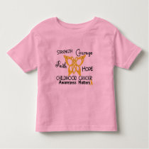 Childhood Cancer Celtic Butterfly 3 Toddler T-shirt
