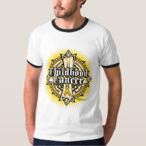 Childhood Cancer Celtic Cross T-Shirt