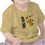 Childhood Cancer CHEMO GRAD 1 T-shirt