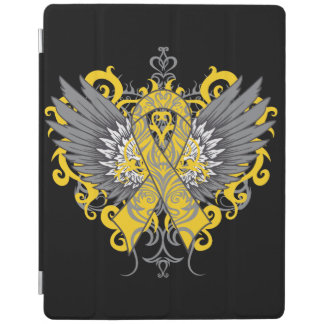 Childhood Cancer Cool Awareness Wings iPad Cover