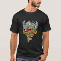 Childhood Cancer Dagger T-Shirt