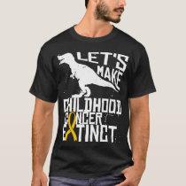 Childhood Cancer DIPG Brain Tumor Awareness Extinc T-Shirt