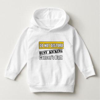 Childhood Cancer Do Not Disturb Kicking Butt T-shirt