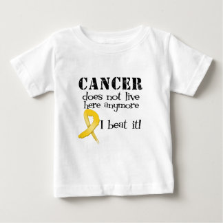 Childhood Cancer Does Not Live Here Anymore Tshirts