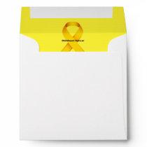 Childhood Cancer Envelope
