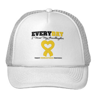 Childhood Cancer Every Day I Miss My Granddaughter Trucker Hat