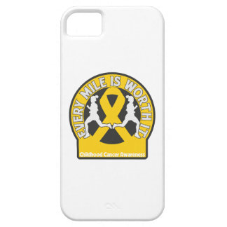 Childhood Cancer Every Mile Is Worth It iPhone 5 Cover