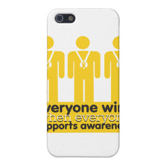 Childhood Cancer Everyone Wins With Awareness iPhone 5 Covers