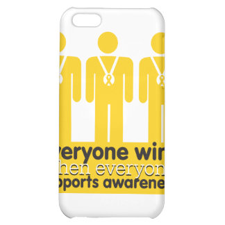 Childhood Cancer Everyone Wins With Awareness iPhone 5C Covers