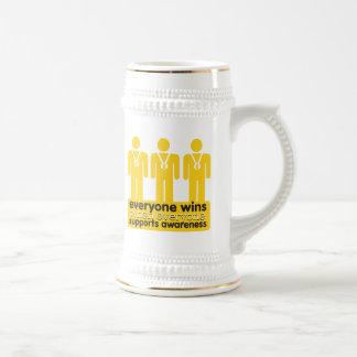 Childhood Cancer Everyone Wins With Awareness Mug