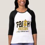 Childhood Cancer Faith Matters Cross 1 Tees