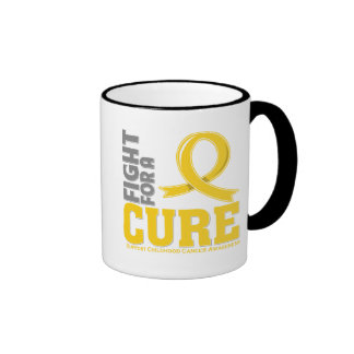 Childhood Cancer Fight For A Cure Mugs