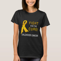 Childhood Cancer Fight for the Cure T-Shirt