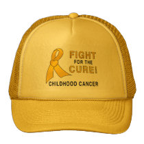 Childhood Cancer Fight for the Cure Trucker Hat