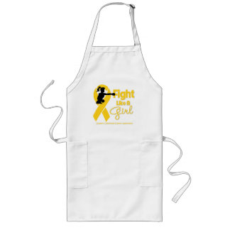 Childhood Cancer Fight Like A Girl  Knock Out Aprons