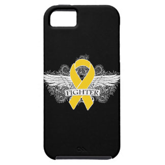 Childhood Cancer Fighter Wings iPhone 5 Case