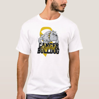 Childhood Cancer Fighting Bulldog T-Shirt