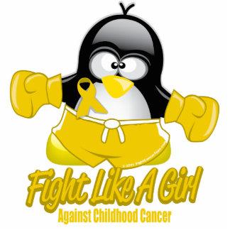 Childhood Cancer Fighting Penguin Photo Sculptures