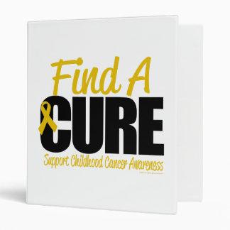 Childhood Cancer Find A Cure Binder